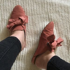 Lucky Brand Dusty Rose Mules